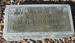 Sarah <i>Meese</i> Boucher