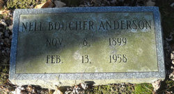 Nell <i>Boucher</i> Anderson
