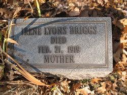 Irene <i>Lyons</i> Briggs