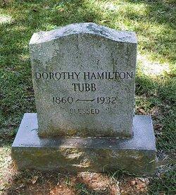 Dorothy <i>Hamilton</i> Tubb