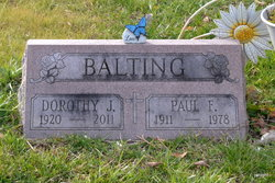 Dorothy J <i>Simpson</i> Balting
