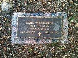 Dr Carl W. Gerardy