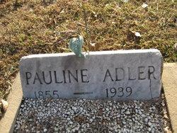 Pauline <i>Weidner</i> Adler