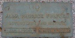 Alma <i>Padrick</i> Fulford