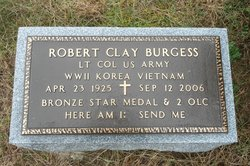 Robert Clay Burgess, Sr