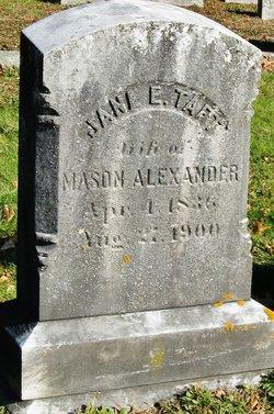 Jane Ellen <i>Taft</i> Alexander