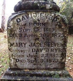 Mrs Mary Jane <i>Stevens</i> Byrd