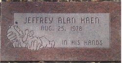 Jeffrey Alan Haen