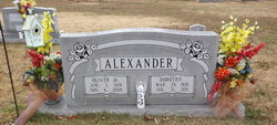 Dorothy <i>Hill</i> Alexander