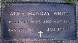 Alma Pauline <i>Corriher Munday</i> White