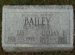 Lillian Esther <i>Zimmermann</i> Bailey