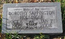 Dorothy <i>Sappington</i> Holsinger