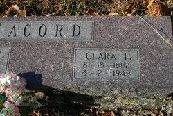 Clara Inda <i>Evans</i> Acord