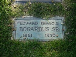 Edward Francis Bogardus, Sr