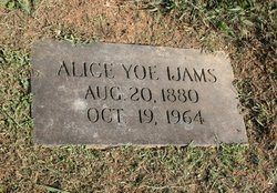 Alice <i>Yoe</i> Ijams