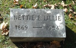 Nettie Ellen <i>Kinney</i> Lillie