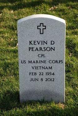 Corp Kevin Dennis Pearson