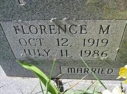 Florence M. Abel