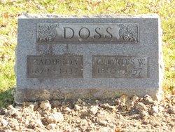 Zadie Ida <i>Washam</i> Doss