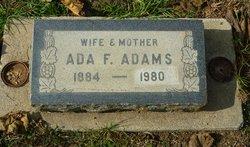 Ada F. Adams