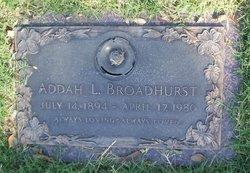 Addah L Broadhurst