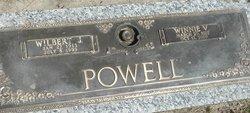 Wilbert Joseph Dick Powell