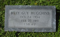 Billy Guy Hugghins