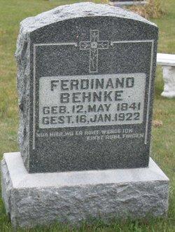 Ferdinand Wilhelm Behnke