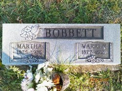 Martha <i>Knight</i> Bobbett