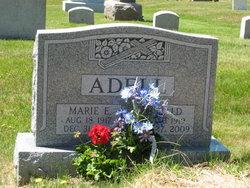 Marie E <i>Nadeau</i> Adell