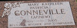 Mary Kathleen Patricia Pat <i>Agnew</i> Gonneville