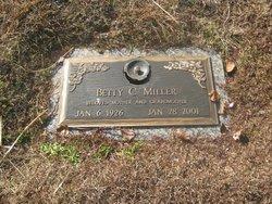 Betty Sue <i>Carpenter</i> Miller