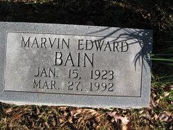Marvin Edward Bain