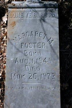 Margaret M Foster