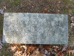 Madeline M <i>Moore</i> McCallum