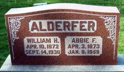 Mrs Abigail F. Abbie <i>Kriebel</i> Alderfer