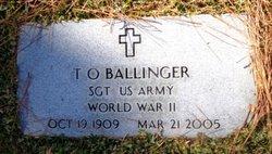 T. O. Ballinger