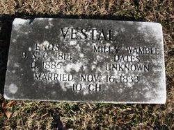 Milly <i>Wamble</i> Vestal