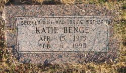 Katie <i>Stephens</i> Benge