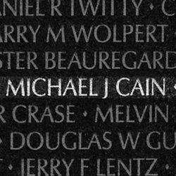 PFC Michael Joseph Cain