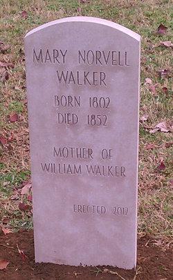 Mary <i>Norvell</i> Walker
