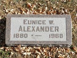 Eunice W. Alexander