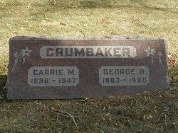 Carrie M <i>Sowards</i> Crumbaker