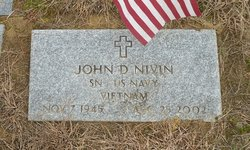 John D Nivin