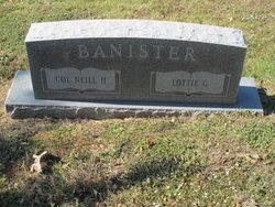 Lottie Estell <i>Glidden</i> Banister