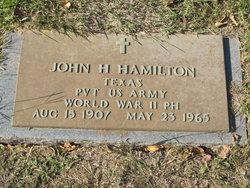 John H Hamilton