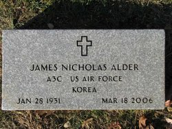 James Nicholas Alder