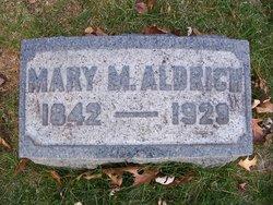Mary M <i>Peebles</i> Aldrich