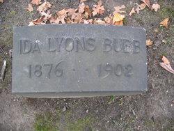 Ida Lucas <i>Lyons</i> Bubb