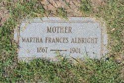 Martha Frances Albright